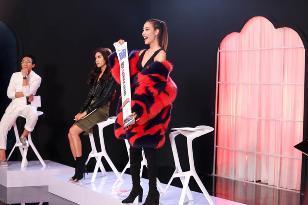 Đạt giải catwalk cũng không thể giúp Hoàng Thùy chiến thắng thử thách trong Tôi là Hoa hậu Hoàn vũ VN - Ảnh 6.