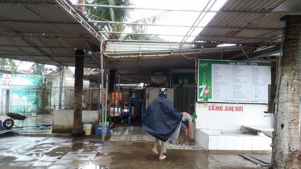 Bão số 10 đổ bộ vào đất liền, vùng tâm bão mưa to, gió giật mạnh - Ảnh 5.