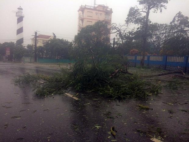 Bão số 10 đổ bộ vào đất liền, vùng tâm bão mưa to, gió giật mạnh - Ảnh 30.
