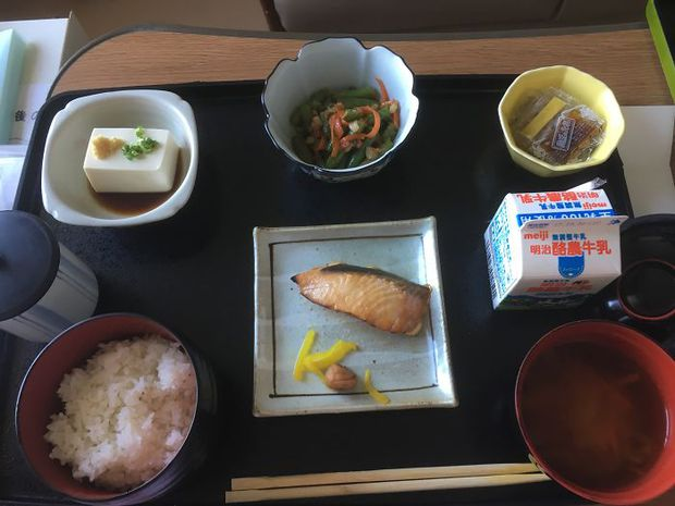 Đồ ăn bệnh viện đẳng cấp Nhật Bản: Nhìn qua bữa ăn của sản phụ, ai cũng tưởng đồ order nhà hàng - Ảnh 4.