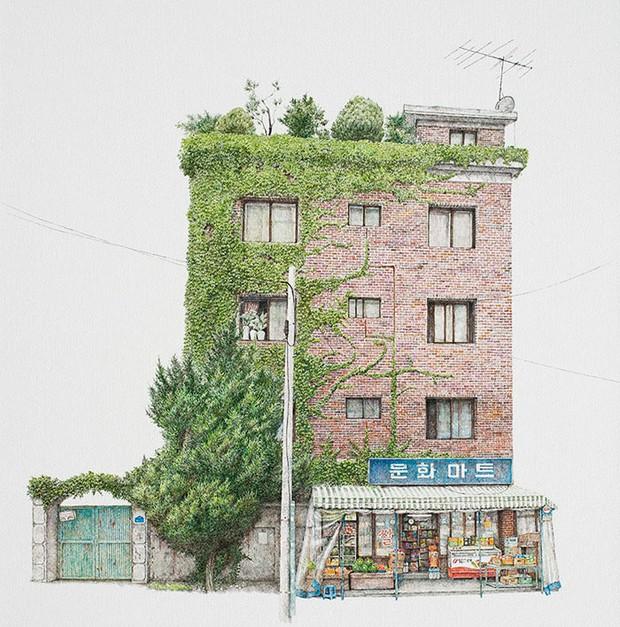 Có một Hàn Quốc đẹp không thốt nên lời qua tranh vẽ suốt 20 năm của người họa sĩ tài năng - Ảnh 4.