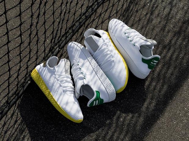 Pharrell Williams và Stan Smith tái hợp cho BST mới toàn tone màu pastel đẹp mê hồn của adidas - Ảnh 5.