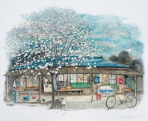 Có một Hàn Quốc đẹp không thốt nên lời qua tranh vẽ suốt 20 năm của người họa sĩ tài năng - Ảnh 6.