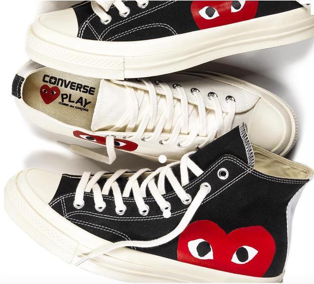 Converse x COMME des GARÇONS Play: đôi sneaker ra mắt đã lâu nhưng chưa bao giờ giới trẻ thôi mê đắm - Ảnh 5.
