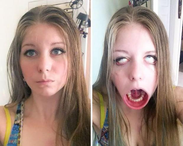 Khi 15 cô nàng xinh đẹp thích làm trò mặt xấu - Ảnh 17.
