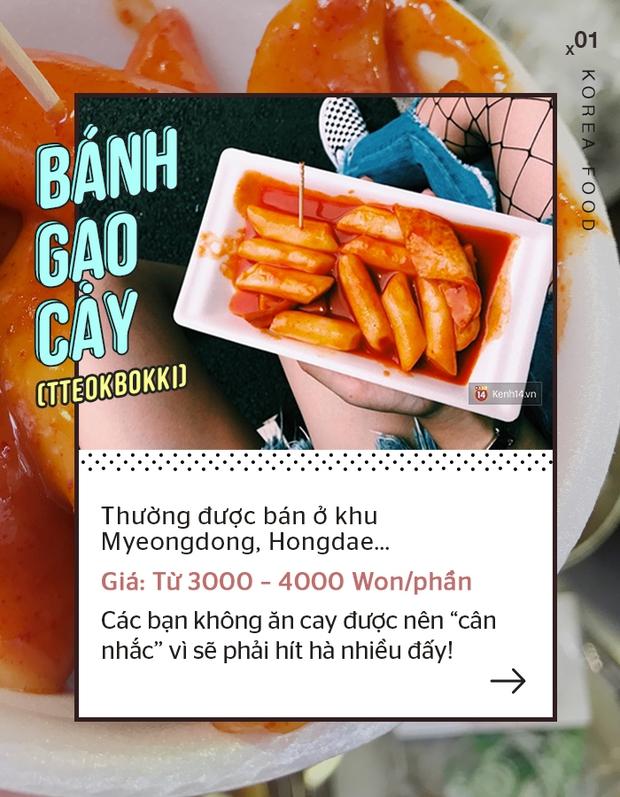 Cẩm nang tất tật những món ăn vặt phải thử khi đến Hàn Quốc - Ảnh 1.