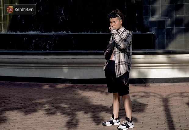 Trời mát mẻ, giới trẻ Việt chẳng ngại ăn vận lồng lộn để có những bức hình street style thật nổi - Ảnh 11.