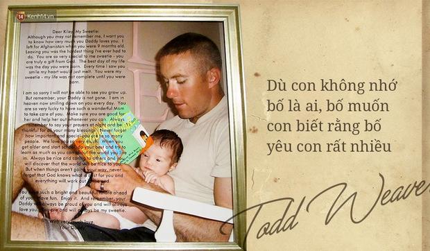 Biết rằng mình sẽ qua đời trên chiến trường, người chồng để lại 2 lá thư xúc động cho vợ và con gái - Ảnh 1.