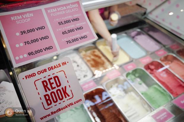 Sài Gòn: Đi thử ngay món kem hoa hồng đang khiến cư dân mạng thế giới sốt xình xịch - Ảnh 7.