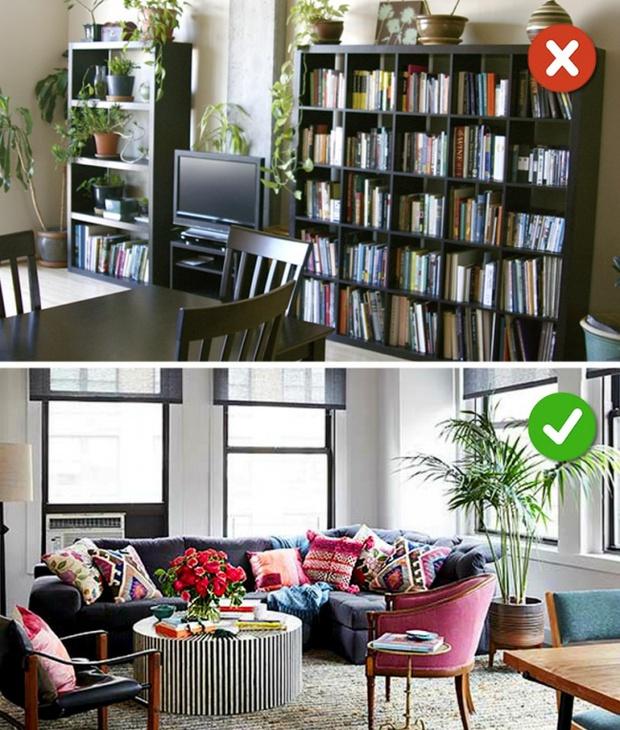 15 lỗi bố trí nội thất phòng khách mà gia đình nào cũng thường mắc phải - Ảnh 7.