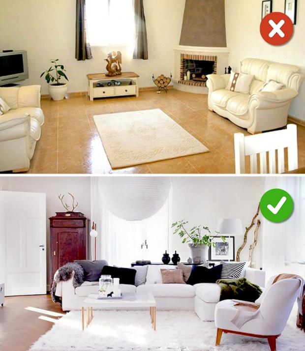 15 lỗi bố trí nội thất phòng khách mà gia đình nào cũng thường mắc phải - Ảnh 15.