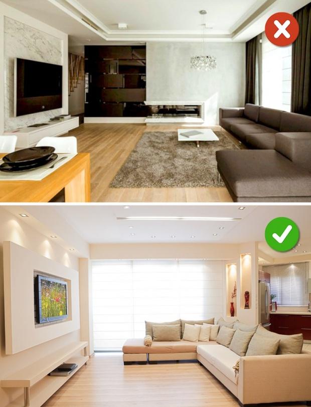 15 lỗi bố trí nội thất phòng khách mà gia đình nào cũng thường mắc phải - Ảnh 17.
