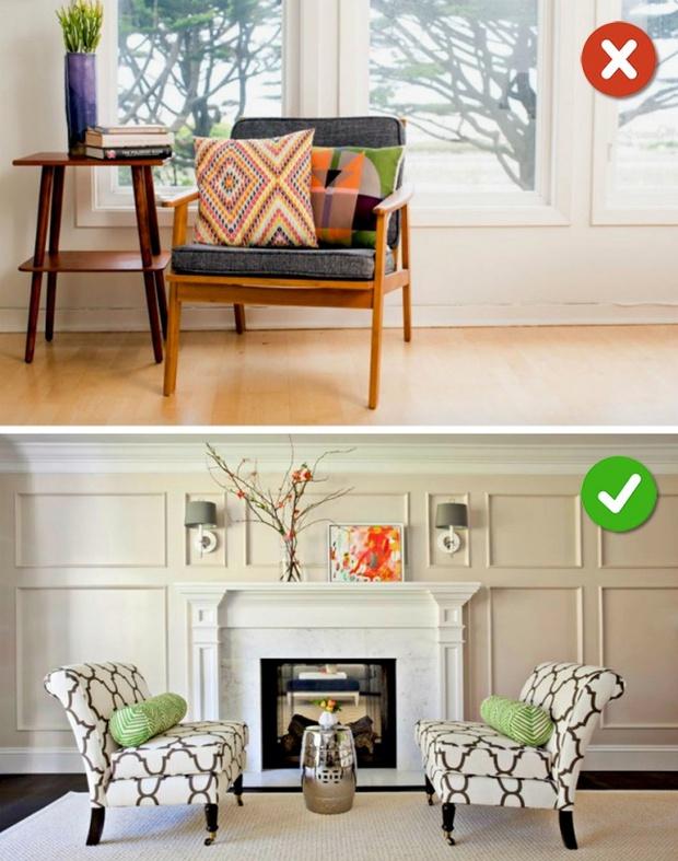 15 lỗi bố trí nội thất phòng khách mà gia đình nào cũng thường mắc phải - Ảnh 25.