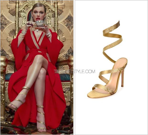 Không hổ danh rắn chúa, Taylor Swift chi cả tỷ đồng mua quần áo quay MV - Ảnh 2.