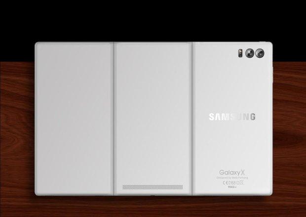 Cùng rửa mắt ngắm ý tưởng smartphone có màn hình bẻ gập đẹp đến mê mẩn - Ảnh 4.