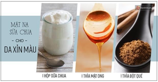 1 hộp sữa chua và vài nguyên liệu sau sẽ giúp bạn xử lý tất cả vấn đề về da - Ảnh 3.