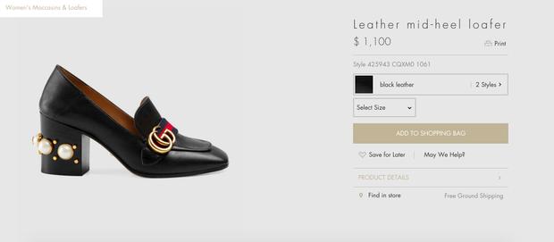 Gucci và 3 đôi giày khiến cả Hạ Vi lẫn Hà Hồ đều mê mệt không dứt! - Ảnh 13.