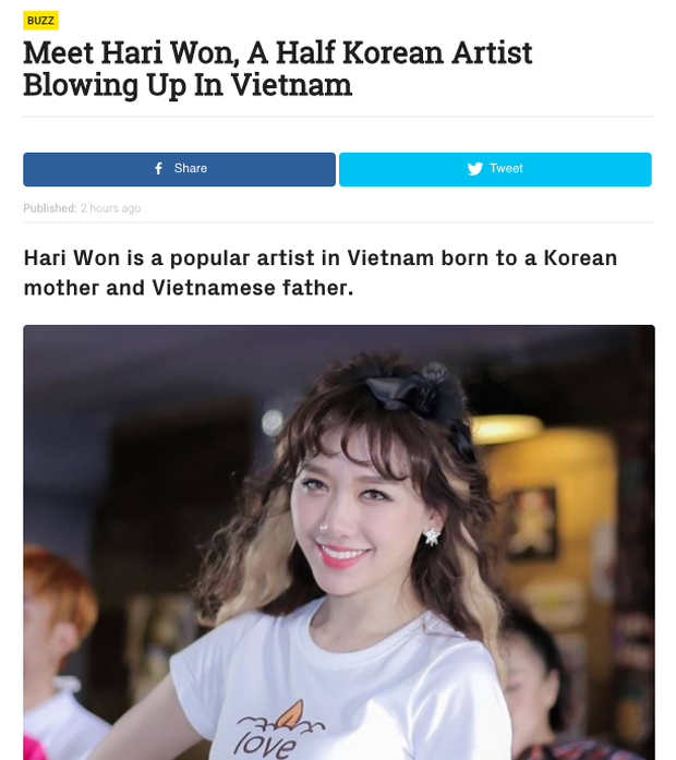 Có ai như Hari Won: Liên tục bị nhầm lẫn trên báo chí xứ Hàn! - Ảnh 5.