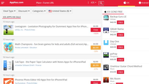 Công cụ hay để tìm app và game giảm giá