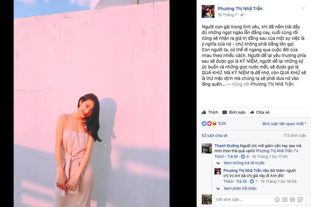 Im lặng trước nghi vấn chia tay nhưng Nhã Phương và Trường Giang đã không còn là bạn trên Facebook - Ảnh 1.