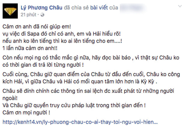 Bạn Lý Phương Châu khẳng định Lâm Vinh Hải biết vợ cũ đi Sapa với Hiền Sến trước khi ly hôn - Ảnh 5.