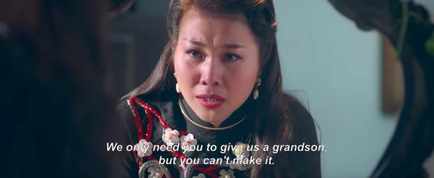 Thanh Hằng bị mẹ chồng mắng nhiếc trong phim điện ảnh về mẹ chồng nàng dâu - Ảnh 4.