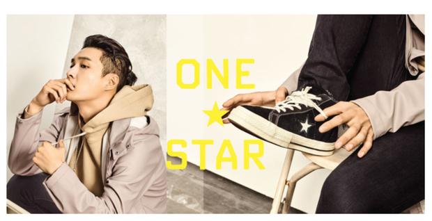 Converse One Star hợp tác cùng Lay (EXO) trong BST mới cực hoành tráng - Ảnh 2.