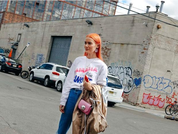 Nào chỉ hội tụ nhiều BST đẹp mĩ mãn, New York Fashion Week 2017 còn có vô vàn street style siêu chất - Ảnh 2.