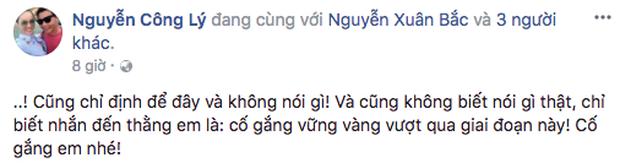 Hồ Ngọc Hà, Đàm Vĩnh Hưng và hàng loạt sao Việt lên tiếng ủng hộ, động viên Xuân Bắc - Ảnh 6.