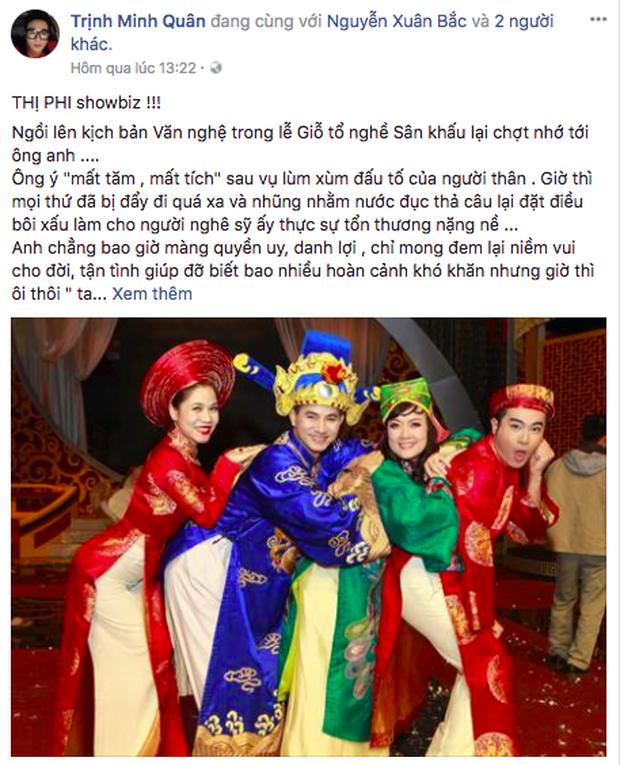 Hồ Ngọc Hà, Đàm Vĩnh Hưng và hàng loạt sao Việt lên tiếng ủng hộ, động viên Xuân Bắc - Ảnh 7.