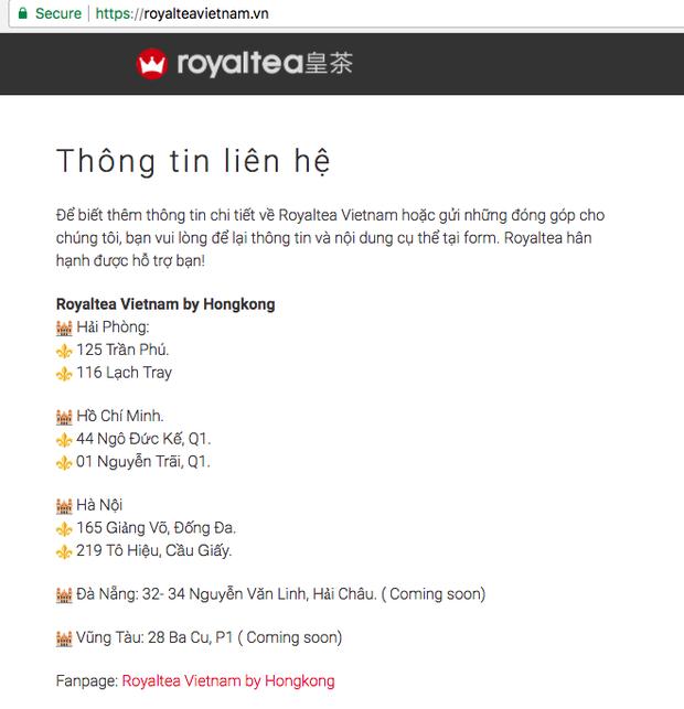 Chủ sở hữu của các chuỗi Royaltea tại Hà Nội, Sài Gòn: Thương hiệu Royaltea không được bảo hộ nên ai cũng có thể kinh doanh mà không vi phạm pháp luật - Ảnh 3.