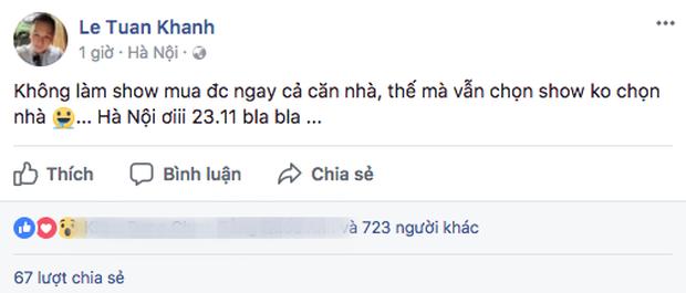 Quản lý Noo Phước Thịnh xác nhận nam ca sĩ sẽ làm liveshow vào cuối tháng 11 này tại Hà Nội - Ảnh 1.