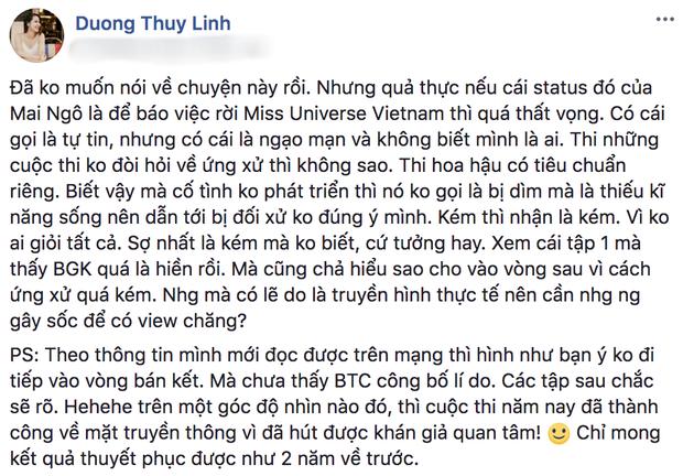 Trước thái độ gay gắt Dương Thùy Linh dành cho Mai Ngô, Phan Anh lên tiếng bảo vệ thí sinh - Ảnh 1.
