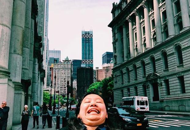 Cằm 2 ngấn đi khắp thế gian: Bộ ảnh du lịch có 1-0-2 của cô nàng mặt tròn vô cùng đáng yêu - Ảnh 7.