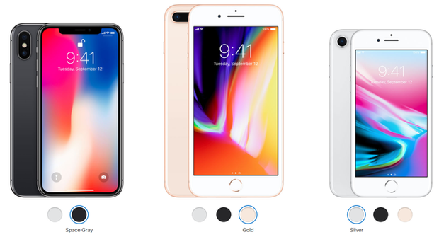 Cả iPhone X và iPhone 8 đều không có màu hồng, các bạn gái chắc sẽ buồn lắm - Ảnh 2.