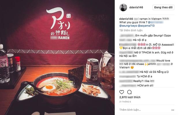 HOT: Rộ tin Seungri (Big Bang) đến Hà Nội vào ngày 26/9 để mở cửa hàng riêng - Ảnh 2.