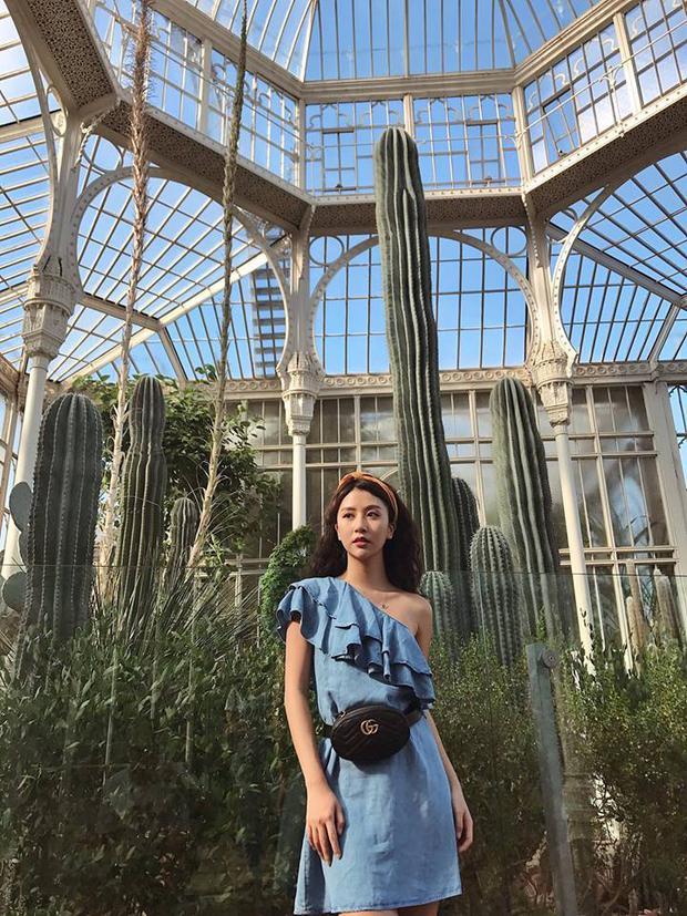 Quỳnh Anh Shyn mang theo 30 bộ đồ và phụ kiện trăm triệu đi du lịch khắp châu Âu - Ảnh 4.