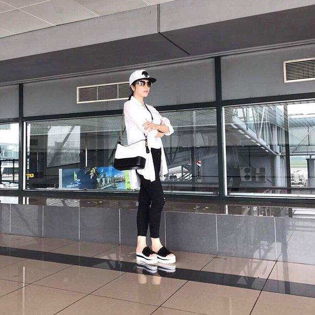 Minh Tú & Á hậu Huyền My cùng diện mốt sporty-chic trễ nải, ai đẹp hơn? - Ảnh 4.