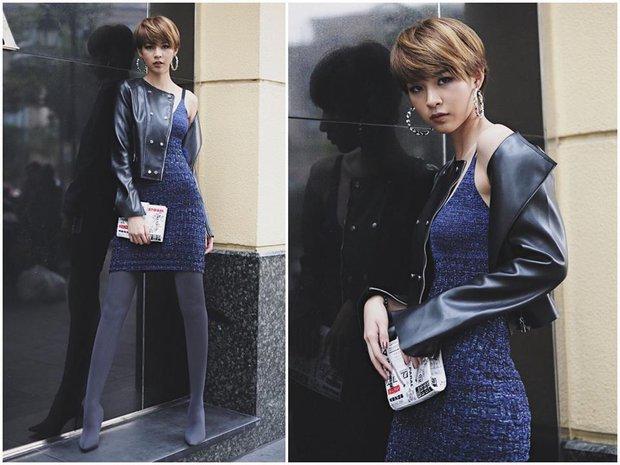 Hà Hồ vẫn chưa dứt cơn mê dép lau nhà, Phí Phương Anh bỗng hóa gái lạ vì style mới - Ảnh 2.