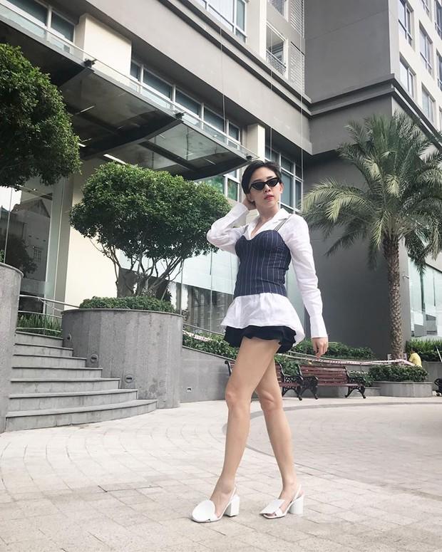 Cùng ở Milan mới thấy, Thanh Hằng và Kỳ Duyên quả có sự tương đồng khó tả về khoản street style - Ảnh 9.