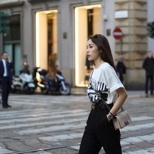 Cùng ở Milan mới thấy, Thanh Hằng và Kỳ Duyên quả có sự tương đồng khó tả về khoản street style - Ảnh 2.