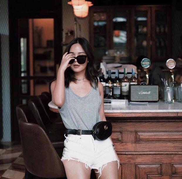 Hết Kendall Jenner, tới lượt sao và hot girl Việt thi nhau lăng xê mốt túi ngang hông - Ảnh 12.