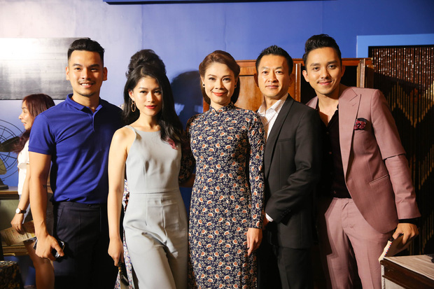 Dàn sao Việt diện trang phục cổ điển đi xem đêm nhạc Bolero của Đàm Vĩnh Hưng - Ảnh 6.