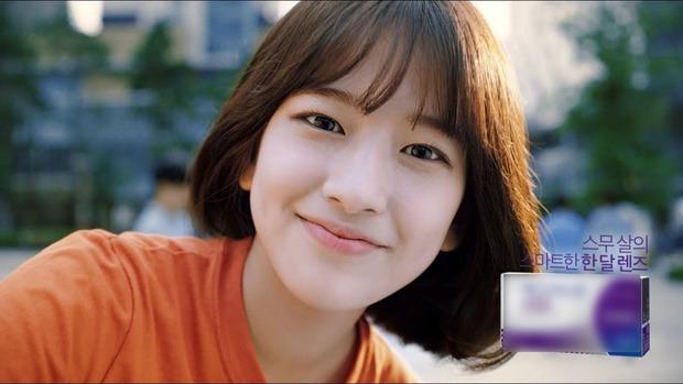 Nữ thực tập sinh nổi tiếng sau 1 clip quảng cáo vì giống nữ thần Hậu duệ mặt trời Kim Ji Won - Ảnh 3.