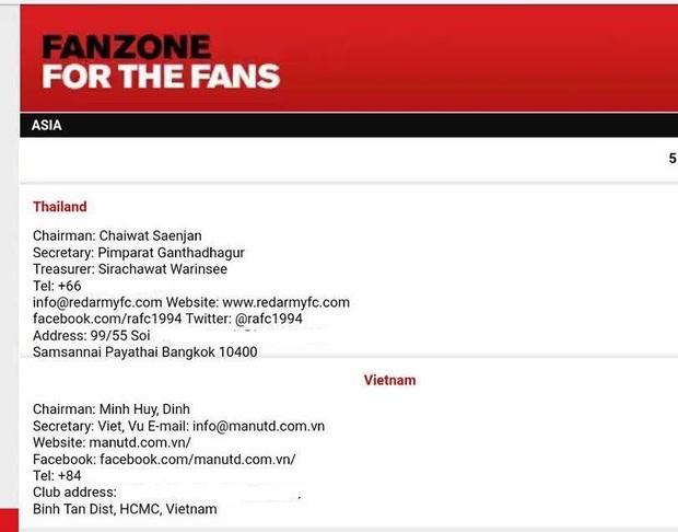 Man Utd công nhận hội CĐV chính thức tại Việt Nam - Ảnh 2.