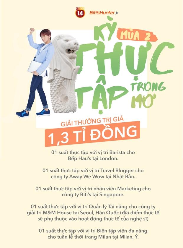 """Biti's Hunter chính thức đem đến giới trẻ Việt """"Kỳ Thực Tập Trong Mơ"""" cùng cơ hội đặt chân đến Tokyo, Milan, Seoul, London và Singapore - Ảnh 1."""