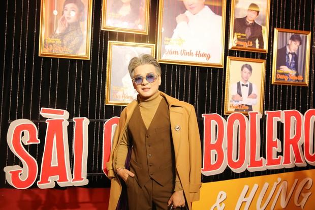 Dàn sao Việt diện trang phục cổ điển đi xem đêm nhạc Bolero của Đàm Vĩnh Hưng - Ảnh 9.