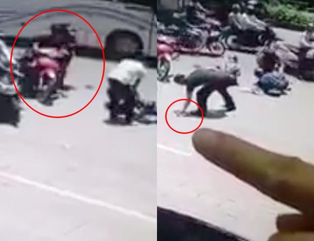 Hành động xấu xí: Người đàn ông tranh thủ hôi của khi dừng lại giúp 2 phụ nữ gặp tai nạn trên đường - Ảnh 3.