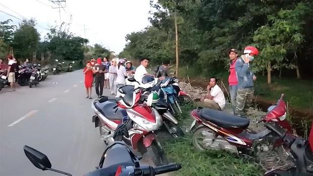 Truy bắt nam thanh niên nghi sát hại tài xế xe ôm cướp xe máy ở Sài Gòn - Ảnh 2.