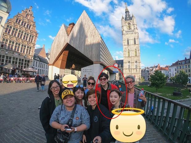Trịnh Thăng Bình công khai chụp hình chung với Liz Kim Cương trong chuyến đi châu Âu sau thời gian bị nghi rủ nhau bí mật hẹn hò - Ảnh 1.